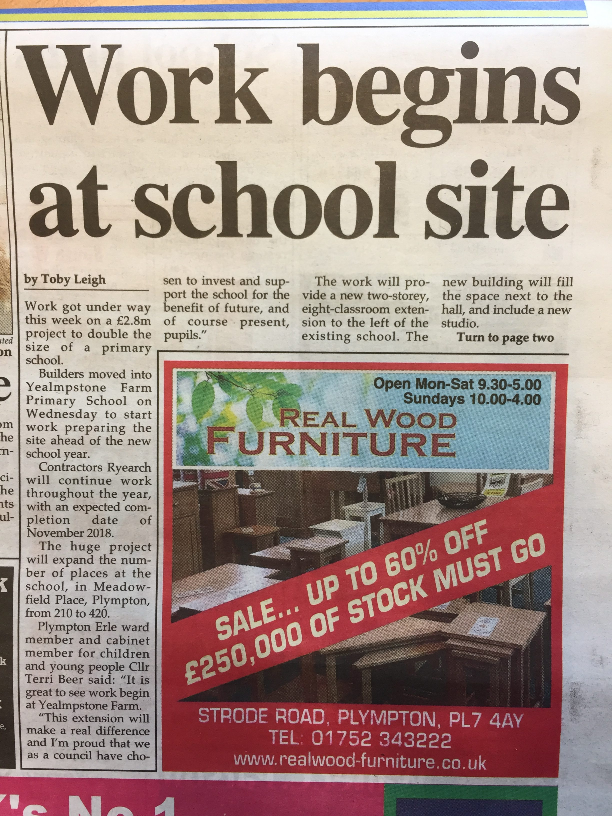 Plympton, Plymstock & Ivybridge News