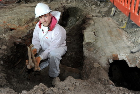 Ancient Remains Discovered at Stoke Damerel Church