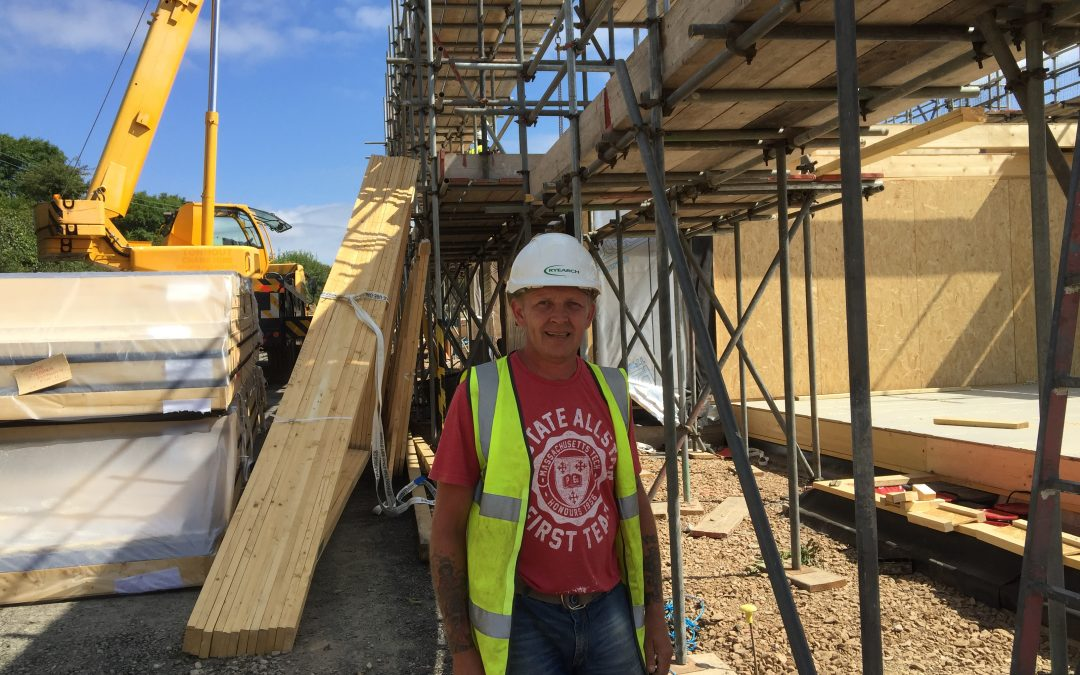 Ongoing Success for Chris – Ryearch's 'Building Plymouth' Trainee