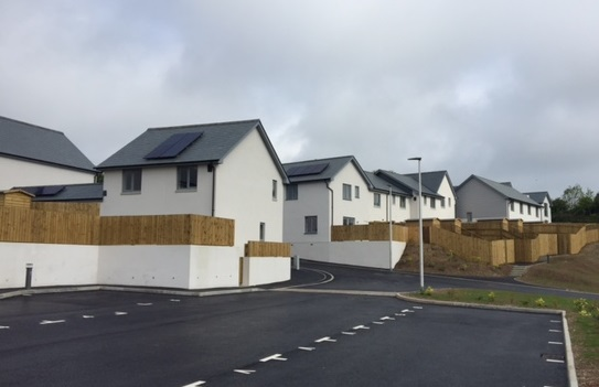 Parsonage Road Housing Development, Newton Ferrers
