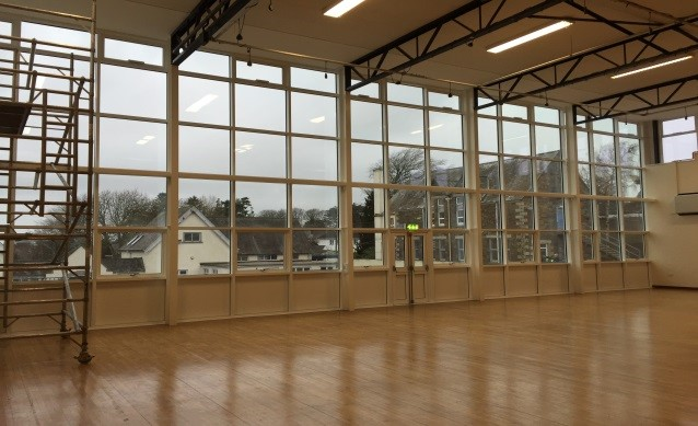 Launceston College - Gym Windows