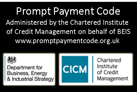 Ryearch Approved Signatory on the Prompt Payment Code